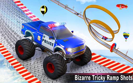 Police Ramp Car Stunts GT Racing Car Stunts Game android2mod screenshots 10