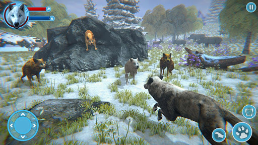 Arctic Wolf Family Simulator: Wildlife Games 17 screenshots 3