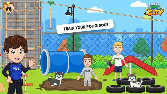 My City: Cops and Robbers – Police Game for Kids👮 Mod 1.0.4 Apk (Paid, Unlocked) 4