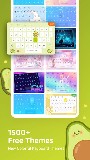 Emoji Keyboard Lite - Emoji & Theme 2.6.3 screenshots 3
