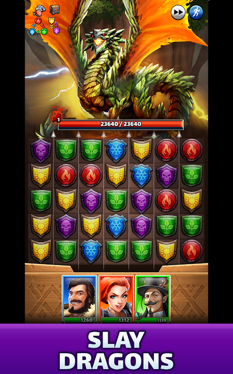 Empires & Puzzles: Match-3 RPG poster 17
