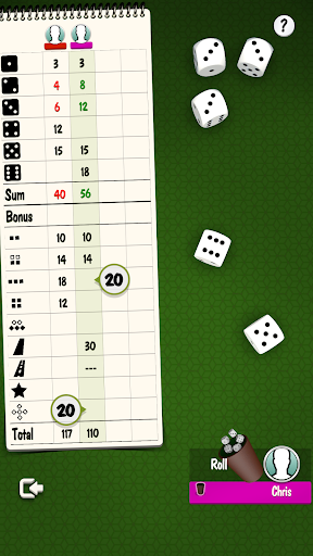 Yatzy Offline and Online - free dice game apktram screenshots 5