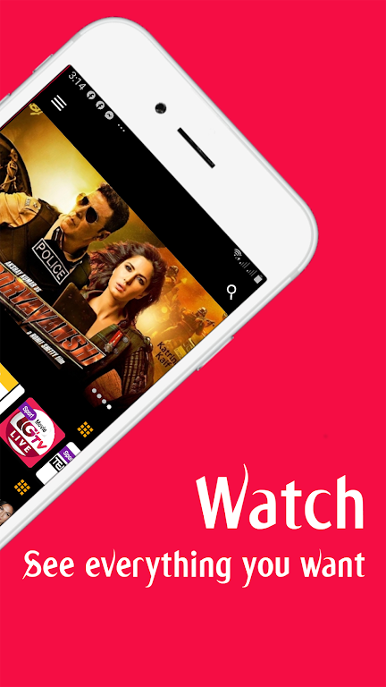 Vflix: Stream Live Tv, Movies, TV Shows And More  poster 1