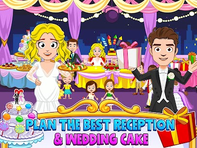 My Town : Wedding Bride Game for Girls Free (MOD, Unlimited Money) For Android 10