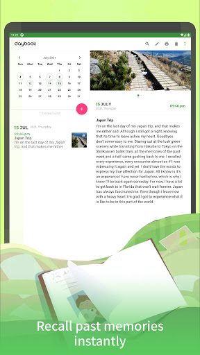 Daybook - Diary, Journal, Note, Mood Tracker android2mod screenshots 10