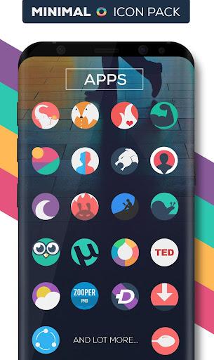 Minimal O - Icon Pack apktram screenshots 5