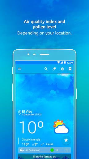 Weather by eltiempo.es 4.4.12 Screenshots 1