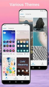 Q Launcher Mod Apk for Q 10.0 launcher, Android Q 10 (Premium Unlocked) 3