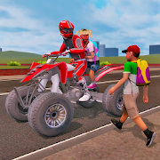 ATV Bike Taxi – School Transport