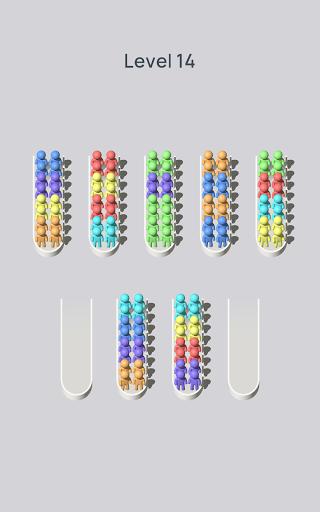 Crowd Sort - Color Sort & Fill  screenshots 11