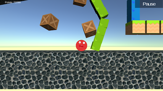 Blueix monster run Screenshot