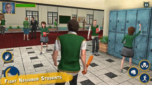 Real High School Fighting - Gangster Crime Sim 3D 1.24 screenshots 1