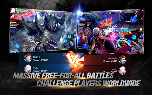 Goddess: Primal Chaos - en Free 3D Action MMORPG Mod Apk