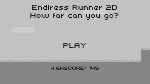 endless runner 2d screenshot 1
