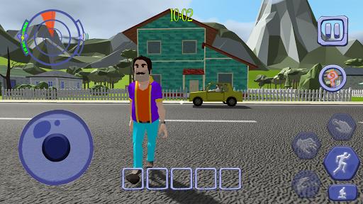 Scary Clown Man Neighbor. Seek & Escape  screenshots 3