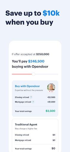 Opendoor Buy & Sell Homes 122.0.0 screenshots 3