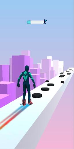 SuperHeroes Skates: Sky Roller apkpoly screenshots 4