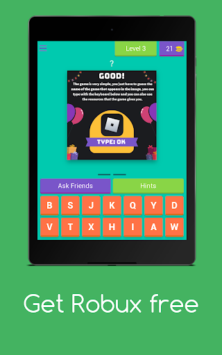 Get Robux Free - Quiz 2021  screenshots 10