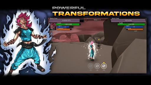 Burst To Power - Anime fighting action RPG  screenshots 4