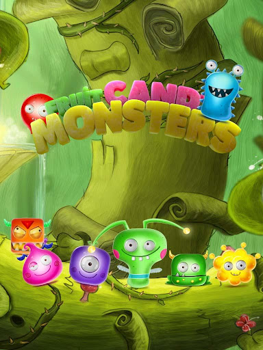 Candy Monsters - Pop The Fruit Candy Juice Crush apktreat screenshots 1