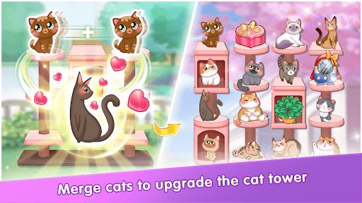 My Cat Diary - Merge Cat & Dress up Princess Games  screenshots 8