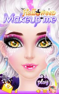 Halloween Makeup Me screenshots 1