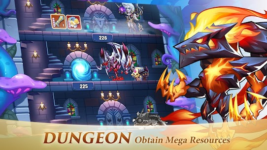 Idle Heroes MOD APK 1.25.0 (VIP 13) [Unlimited Gems/Money/Coins] 5