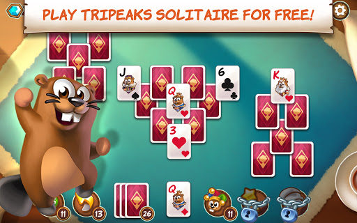Treepeaks - A Tripeaks Solitaire Free Adventure screenshots 17