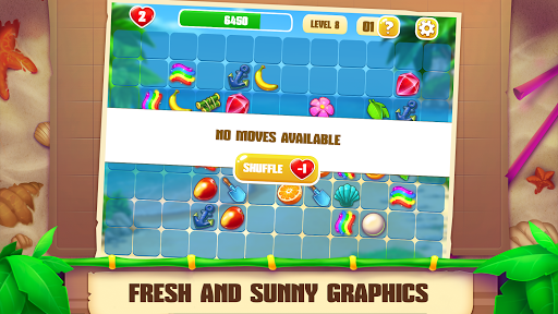 Onet Paradise: pair matching game, connect 2 tiles 1.70 screenshots 3