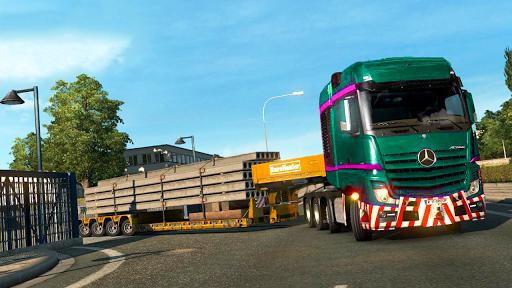 US Heavy Modern Truck: Grand Driving Simulator 3D  screenshots 3