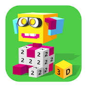 Block Art: 3D Color by Number, Voxel Coloring Book