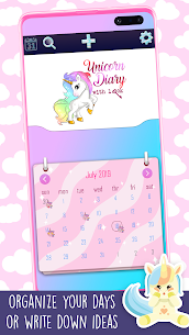Unicorn Diary With Lock 4