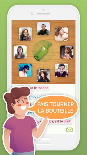 Spin the Bottle : bavarde et flirte  APK MOD (Astuce) screenshots 1