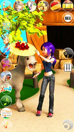 Talking Princess: Farm Village 2.6.0 screenshots 3