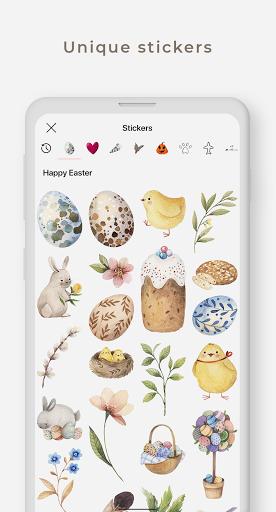 Graphionica Photo & Video Collages: sticker & text apktram screenshots 3