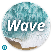 Wave - Customizable Lock screen