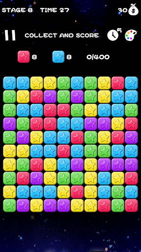 Popping Stars-Free classic elimination game 1.0.2 screenshots 5