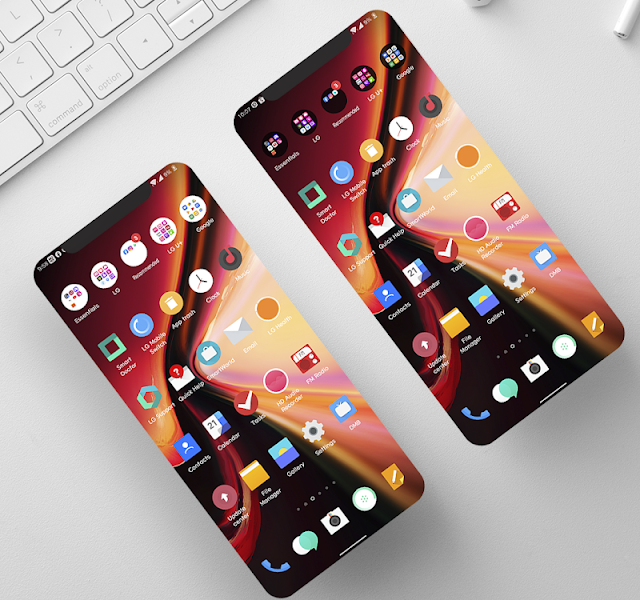 [UX9] OxygenOS Theme for LG Android 10