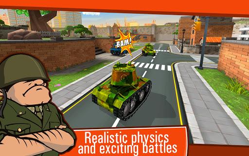 Toon Wars: Awesome PvP Tank Games  screenshots 9