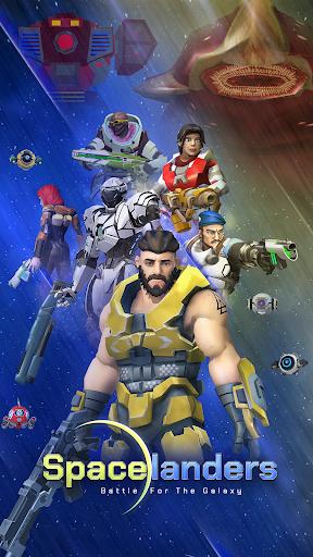 Spacelanders: 3D Sci-Fi Shooter RPG apktreat screenshots 1