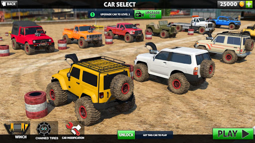 Off Road Monster Truck Driving - SUV Car Driving screenshots 1