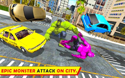 Unbelievable Superhero monster fighting games 2020  screenshots 11