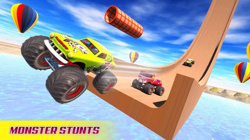 Mega Ramp Car Racing Stunts 3D - Impossible Tracks screenshots 1