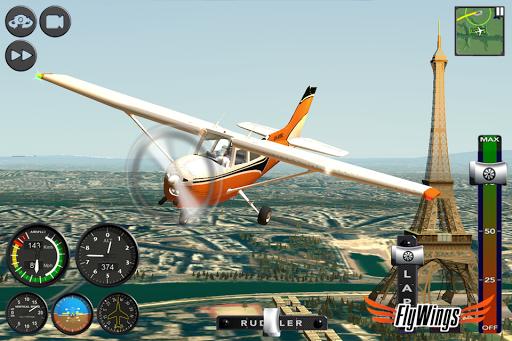 Flight Simulator 2015 FlyWings Free 2.2.0 screenshots 3