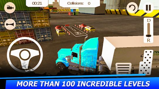 American Truck Simulator Parking 2017 Apk Download New 2021 4
