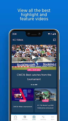 ICC - Live International Cricket Scores & News  screenshots 4