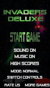 Invaders Deluxe – Retro Arcade Space Shooter FREE 1.30 Mod APK (Unlock All) 2
