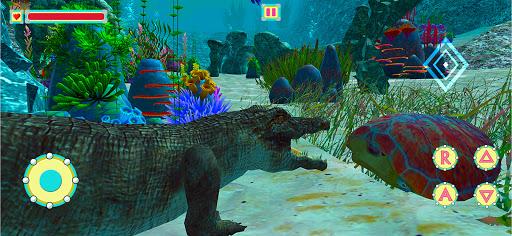 Underwater Crocodile Simulator u2013 Crocodile Games 1.3 screenshots 11