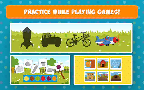 The Blue Tractor: Fun Learning Games for Toddlers 1.2.0 Screenshots 13