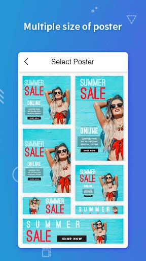 Poster Maker, Flyers, Banner, Logo Ads Page Design  Screenshots 3